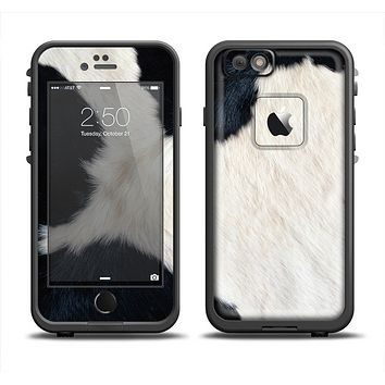 The Real Cowhide Texture Apple iPhone 6 LifeProof Fre Case Skin Set