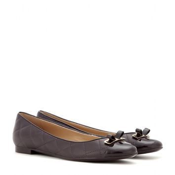 salvatore ferragamo - my quilted leather ballerinas