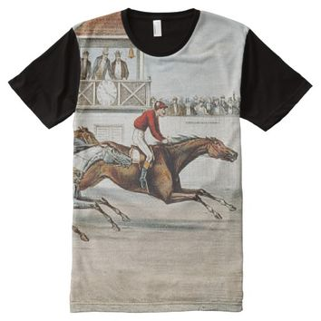TOP Race to Victory All-Over Print Shirt