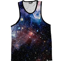 Lush Galaxy Men's Tank Top