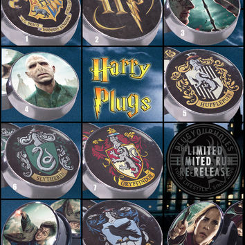 Limited Run - Harry Potter - Image Plugs