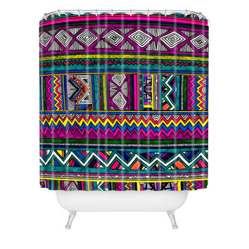 Kris Tate Huipil 2 Shower Curtain