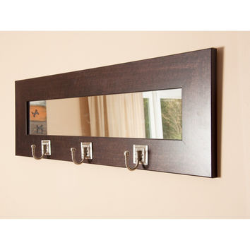 Wall Mirror With Hooks best mirror with hooks products on wanelo