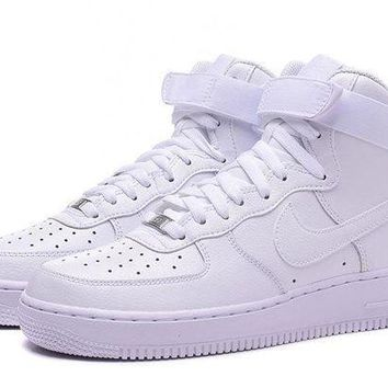 ESBBE6 Nike Air Force 1 HIGH 07 AF1 White For Women Men Running Sport Casual Shoes Sneakers