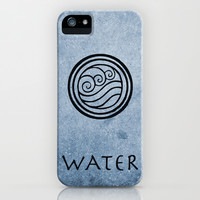 Avatar Last Airbender - Water iPhone & iPod Case by Briandublin