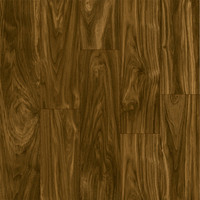 Shop Style Selections 4.96-in W x 4.23-ft L Dark Walnut Smooth Laminate Wood Planks at Lowes.com