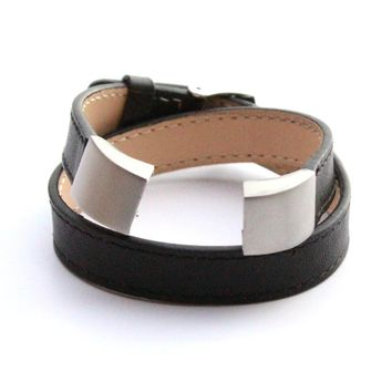 Fitbit Alta Double Wrap Leather Band | Strap Fitness Tracker