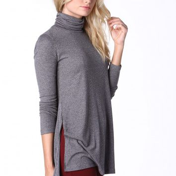 Show Me More Long Sleeve Tunic