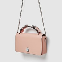 CROSSBODY BAG WITH GEM DETAIL DETAILS