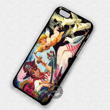 Pirates of The Caribbean Marc Davis Redhead Disneyland - iPhone 7 6 5 SE Cases & Covers