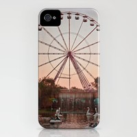 Dusk at the Fair iPhone Case by Around the Island (Robin Epstein) | Society6