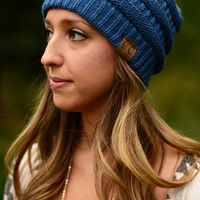 Best Ever Beanie- Dark Denim