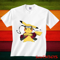 naruto shirt, Pikachu Naruto tshirt , Pikachu shirt, pokemon t shirt, pokemon Tshirt kids, kids clothes, toddler clothes, baby tshirt