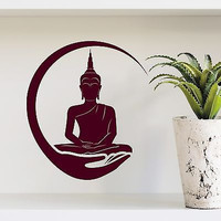 Indian Buddha Wall Decal Ganesh Vinyl Sticker Home Bedroom Decor Mural DA3990