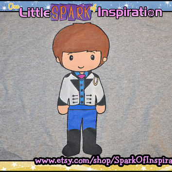 Fairytale Cuties Frozen - Prince Hans of the Southern Isles T-Shirt Commission