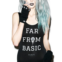 Civil Clothing Far From Basic One Piece Black