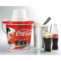 Nostalgia Coca-Cola Series 4-Quart Ice Cream Maker