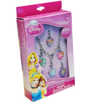 interchangeable charm bracelet princess- Disney
