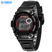 SYNOKE Fashion Students Digital Watch  s Waterproof Sports Watches Led Electronic Watches Students Multifunction Watches