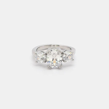 Occasion Faux Diamond Ring
