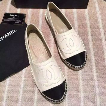 Chanel Fashion Espadrilles For Women Shoes Three-Colour-1