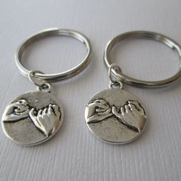 2 Pinky Promise, Best Friends Keychains