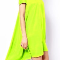 Glow with the Flow Neon Dress