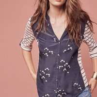 Sailboat Stargazing Blouse