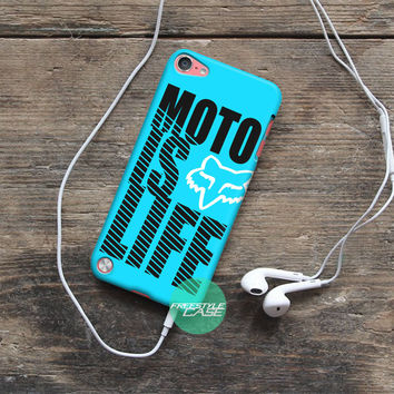 Motocross is life FOX Racing Gear iPod Case Cover Series