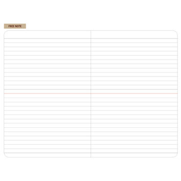 2015 Ardium Simple M dated monthly journal planner