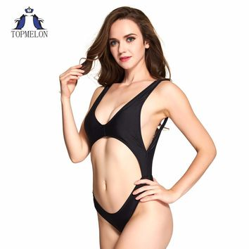 One Piece Swimsuit Female bathing suit women open back swimsuit Summer Beachwear Swimwear women