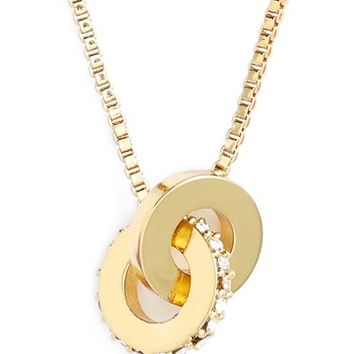 kate spade new york 'infinity' mini pendant necklace | Nordstrom