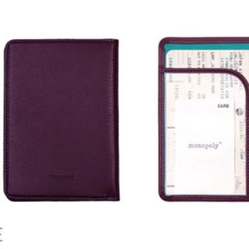 Plain Anti Skimming Passport Case