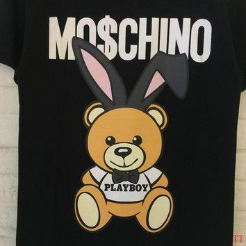 Moschino Short Round Collar Short Sleeve T-shirts #2965680