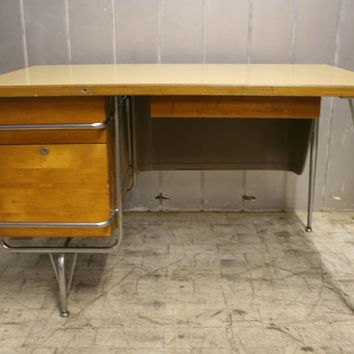 Vintage Heywood Wakefield Teachers Desk
