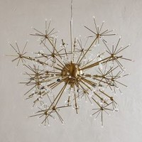 Dandelion Orbit Chandelier by Anthropologie in Bronze Size: One Size Lighting