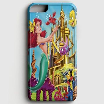 Ariel The Little Mermaid On Tiffany Blue iPhone 6 Plus/6S Plus Case
