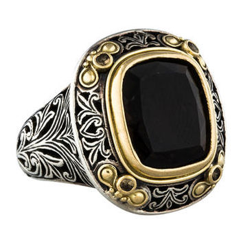 Konstantino Smoky Quartz Ring