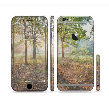 The Vivia Colored Sunny Forrest Sectioned Skin Series for the Apple iPhone 6 Plus