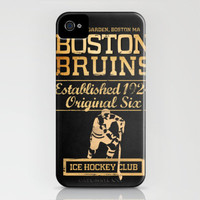 Boston Bruins Hockey Club iPhone Case by tylersmith | Society6