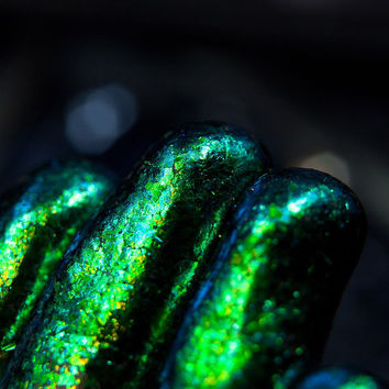 Prismatic Pothal - Scales of Forest Wyvern (for nails and external use) by SIGIL inspired.