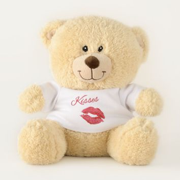 Kiss Me Teddy Bear