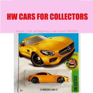 2017 Hot Wheels 1:64 15 Merced amg gt Metal Diecast Cars Collection Kids Toys Vehicle For Children Models