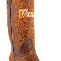 Gameday U Of Tennessee Ladies Leather Boots - Brass
