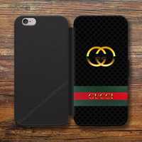 Gucci-X87 Logo Wallet Case iPhone 8/7/6S Plus 5S Samsung S9 S8 S7 S6 Note cases
