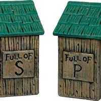 Salt & Pepper Shaker Set - Outhouse