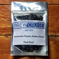 Fresh Roasted Small Batch Guatemalan Arabica Whole Roasted Coffee Beans Dark Roast 2oz Sample