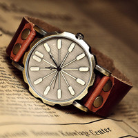 Leather Watch For Man