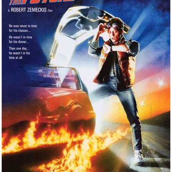 Back to the Future Movie Poster 11x17