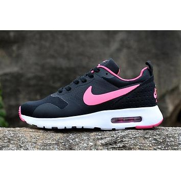 Nike Air Max87 Women Running Sport Casual Shoes Sneakers Black/Pink